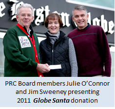 globe-santa-donation